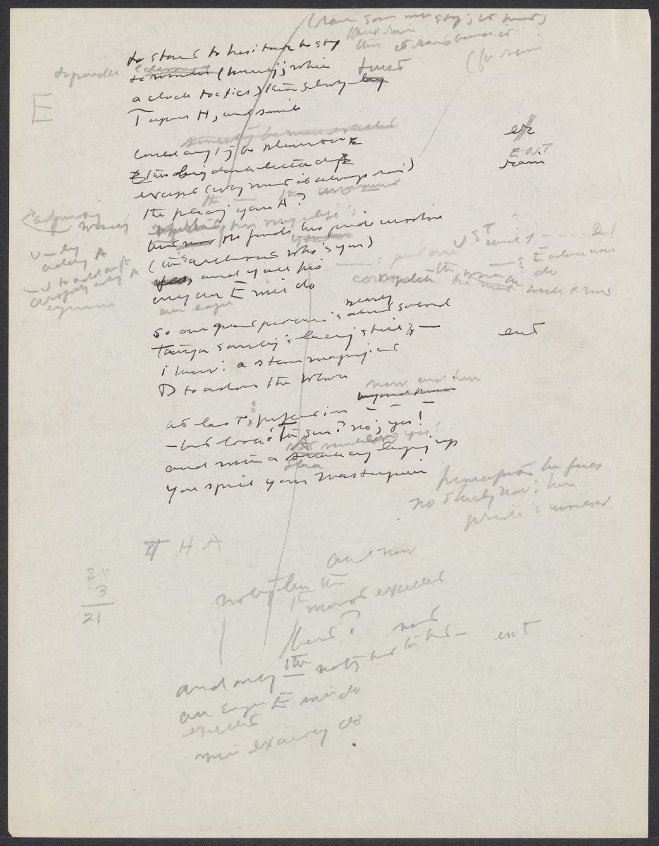 Drafts from XAIPE (1950) – Cummings Archive